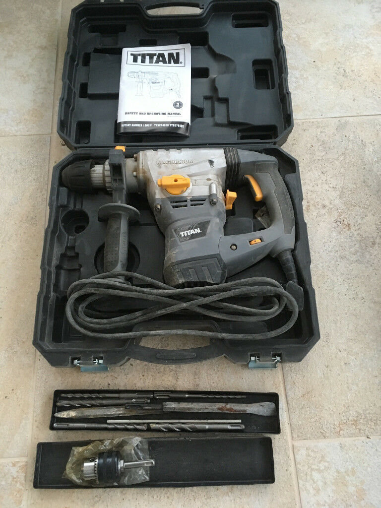 Titan Concrete Breaker Rotary Hammer | in West End, Hampshire | Gumtree