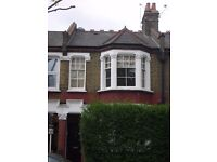 Lovely bright airy 2 double bedroom flat with private garden.