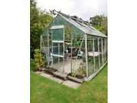 Greenhouse 10ft 6in x 8ft (Wilmslow area) free to collector