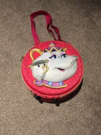 Disney shop beauty and the beast lunch bag.
