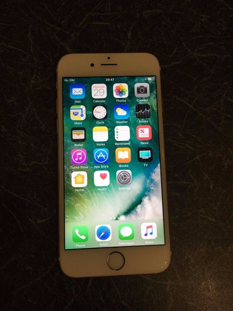 iPhone 6s 16gb Rose Gold Unlocked All Networkin Kirkcaldy, FifeGumtree - iPhone 6s 16gb Rose Gold Unlocked Good condition , Full functional . Charger included. 1 Week warranty . Final price