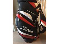 Titleist golf cart bag, excellent condition.