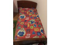 Feather & Black Children's single bed