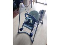 Fisher Price 3 in 1 swing n rocker Chair Baby Boy Girl Bundle mothercare mamas and papas