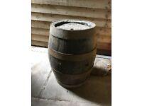 Antique mini barrel
