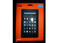 Amazon Kindle Fire 7 Inch 8GB Wi-Fi Tablet 5th Generation (Latest model) Blue