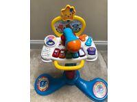 Toys- walker, piano, activity Center