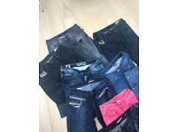 10 x Jeans - For petite length - Some Designer - Miss Sixty / Diesel / Levi's