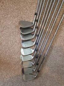 Golf set sim irons