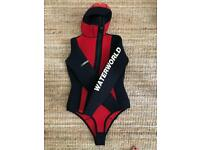 M/L 10mm cold water Upper body wet suit with hood