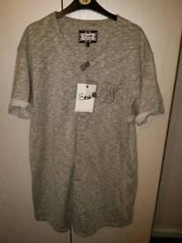XL siksilk baseball jersey £30