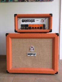 Orange OR15 all valve head and PC12 cabinet