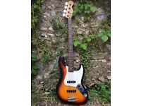 Fender Jazz Bass - 2001, Sunburst, Made in Mexico - With gigbag! Make an offer!