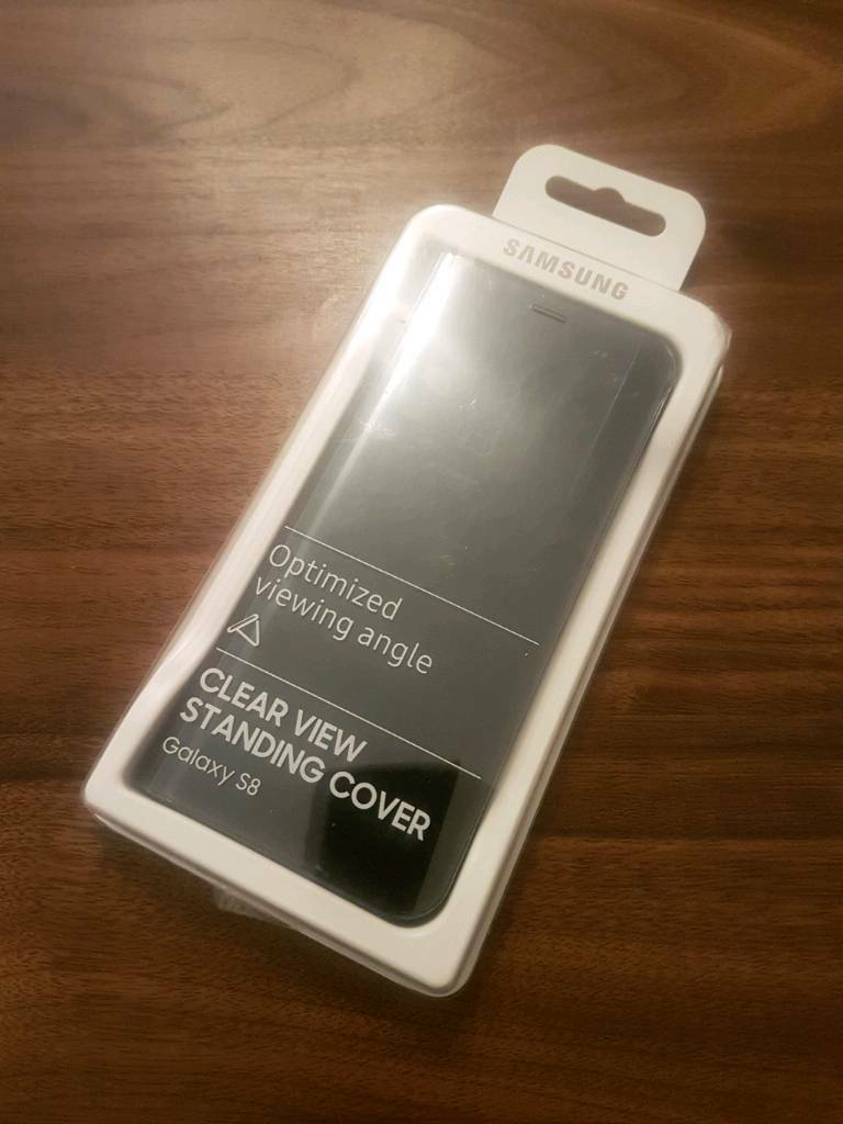 Genuine Samsung S8 clear view standing cover