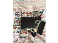 ps3 console 120gb slim like new with 7 games and more only used a few times