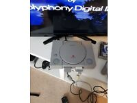 Playstation 1 with 2 Pads and Gran Turismo