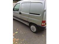 Peugeot partner 1.6 hid *side door* 2008 (08) silver