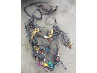 Ford escort Rs turbo complete car wiring loom from running car