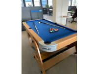 Pool Table Collapsable 6ft 6inch - Riley - Nearly New