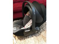 Cybex cloud q infant reclining car seat with isofix base