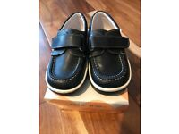 Boys andanines boat shoes