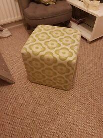 Cube foot stool