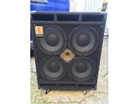 Eden D410XLT 4ohm bass cab