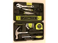 New 25 piece hand tool kit
