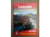 Hikes in Iceland - French guidbook
