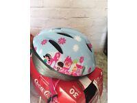 Kids girlish helmet