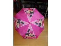 Girls Minnie Mouse Umbrella