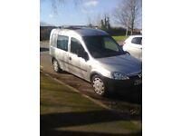 Vauxhall Combo 2000 CDTi campervan