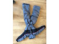 Young children's ski suit and trousers