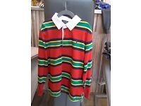 Boys Ralph Lauren long sleve rugby shirt
