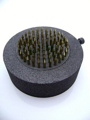 """Vin Pin 2"""" Dia Glass Implosion Graphite - Free Ship in US"""