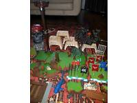Job lot Mega Blocks Building bricks - dragons , castles and pirated