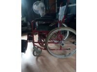 Red Wheelchair