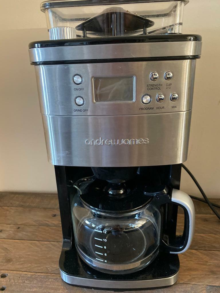 Andrew James Beans To Cup Coffee Machine Hardly Used In Blidworth Nottinghamshire Gumtree