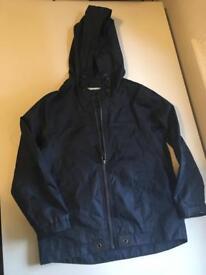 M&S Lightweight Navy Raincoat - 5 to 6 years