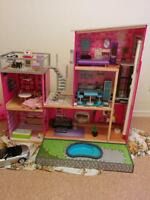BARBIE MANSION WITH A POOL... NEED IT GONE