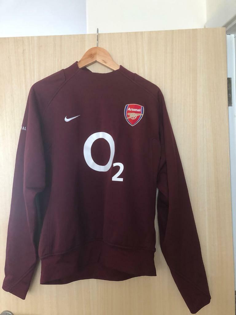 b367c323e Arsenal Training Top (Medium). Letchworth Garden City ...