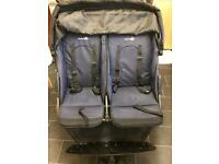 Double/twin buggy/stroller