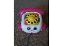 Fisher Price pull-along phone