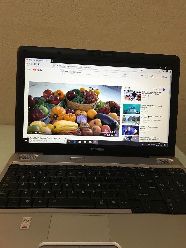 Toshiba Satellitecore I3 24ghz Speed 156 Inch Laptopwindows 10 I8 Keyboard Mini Wearless Pnp Windows Https Iebayimgcom 00 S Mtaynfg3njg