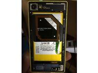 Sony Xperia For parts :The battery , Camera etc.