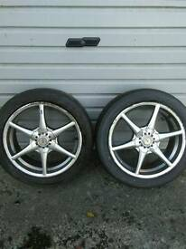 Alloy Rims and Tyres