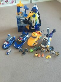 Imaginext and Tomy Tomica Hypercity bundle