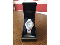 Ladies Sekonda White Watch