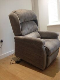 Electric reclining chair in London
