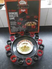 New boxed drinking roulette game